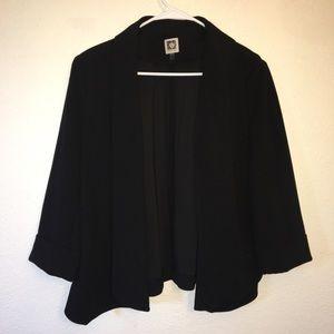 Anne Klein Large Black Blazer